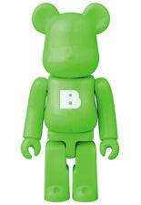 f9ab7998 item 6 Medicom Bearbrick S38 Basic Letter Series 38 be@rbrick 100% Big B  Green -Medicom Bearbrick S38 Basic Letter Series 38 be@rbrick 100% Big B  Green