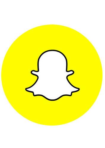 SOCIAL MEDIA CAKE TOPPER EDIBLE WAFER PAPER VARIOUS DESIGNS /& SIZES