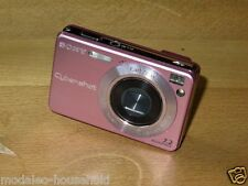 Sony Cyber-shot  DSC-W120 7.2 MP Digital Camera - Pink  in very good condition-A