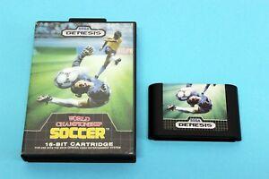 SEGA-Genesis-Mega-Drive-Spiel-World-Championship-Soccer-in-OVP