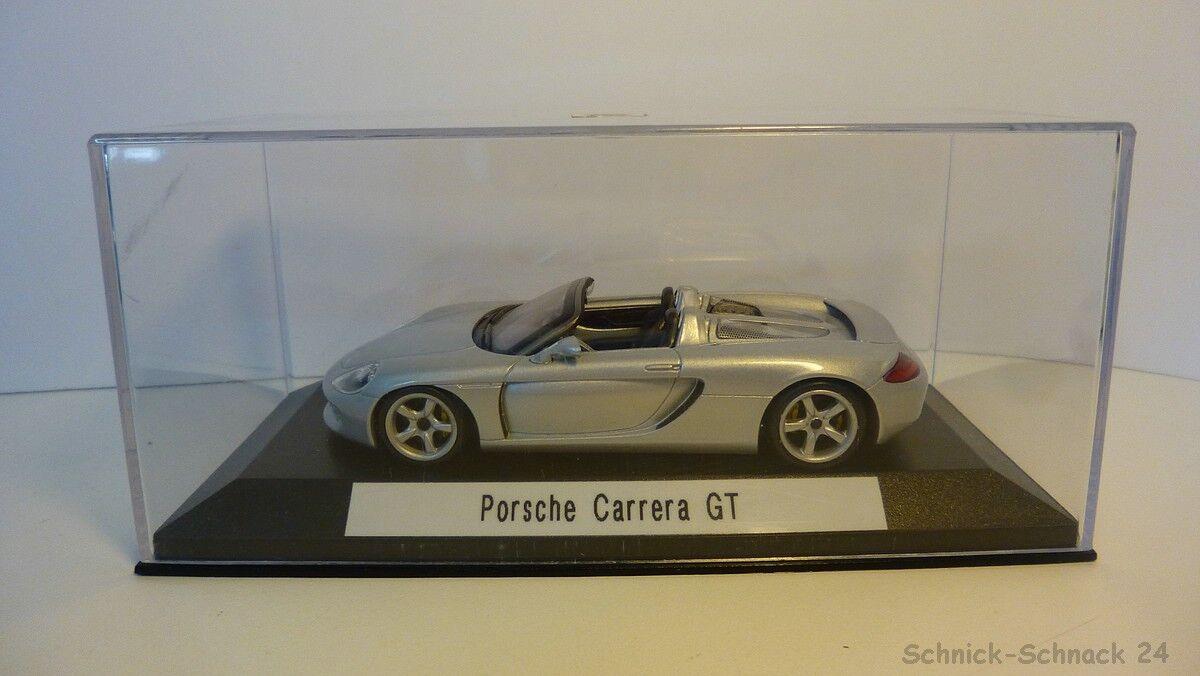 Minichamps 1 43 Porsche Carrera GT silber  26318