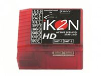 Ikon2 Hd Flybarless Gyro System W/ Polarity Protection & Rescue Mode Ikon2003