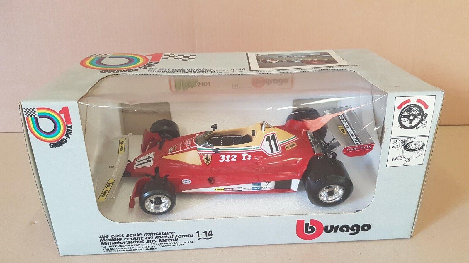 Ferrari 312-T2 Burago 2102 Scala 1 14 Mib