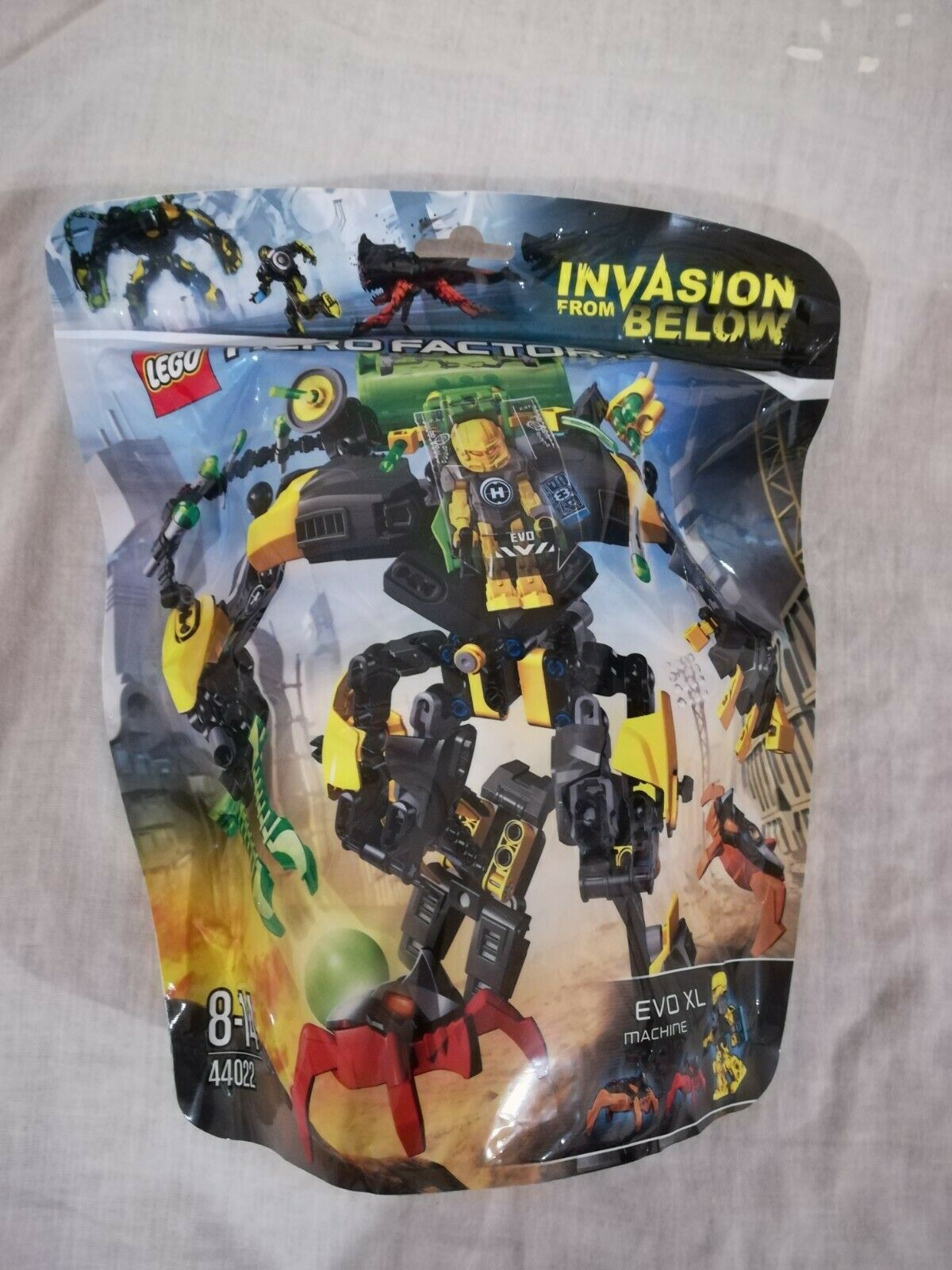 Lego Hero Factory 44022 Evo Xl Máquina-Nuevo Y Sellado-invasión de abajo