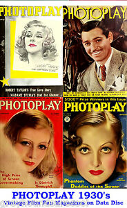 Photoplay-1930s-Vintage-Collection-Film-Movie-Screen-Magazines-on-Data-Disc