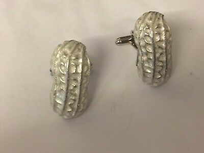 Nut Gt156 Cufflinks Made From English Modern Pewter Factory Direct Selling Price Pins & Brooches