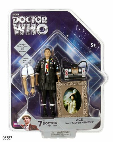 Doctor Who Ace Silver Nemesis Action Figure NEW!