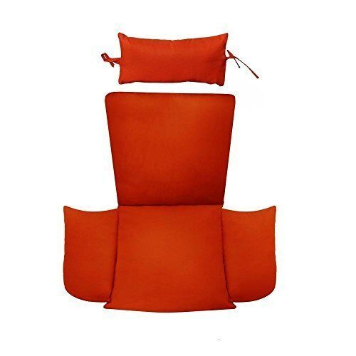Buy Patio Chair Cushion Replacement With Head Pillow For Outdoor