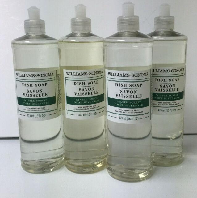 Williams Sonoma Winter Forest Dish Soap