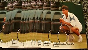 01-2003-NETPRO-TENNIS-70-RAFAEL-NADAL-ROOKIE-RC-Quantity-Availabl-FRENCH-OPEN