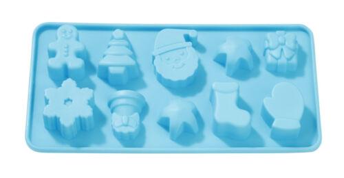 molde de la pascua Navidad Hobbyfun silicona forma silicona-ttrovingsl