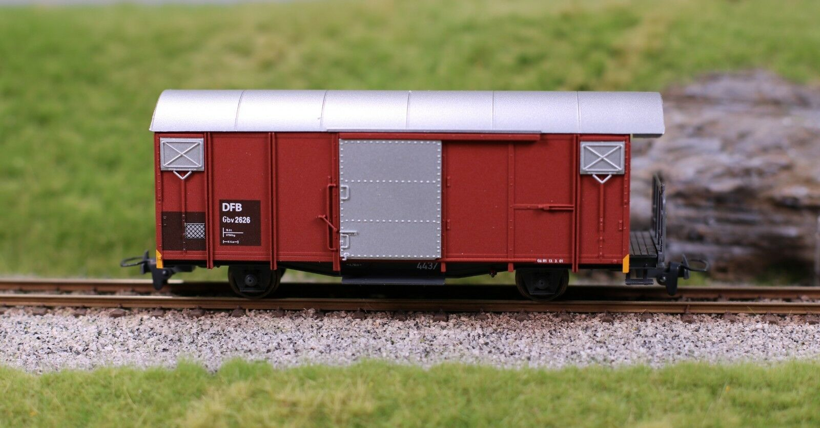 BEMO 2250 296 A Vapore Treno FURKA-Berg tratto GBV 2626 MODELLO EXCLUSIV
