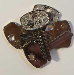 5x-fuer-DOM-Schliessanlage-Silca-DM33R-Rohling-Sonderprofil-Keyblank
