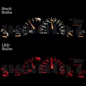 Details about Dash Instrument Cluster Gauge RED LED LIGHTS KIT Fits 93-96  Chevy Camaro 4th Gen