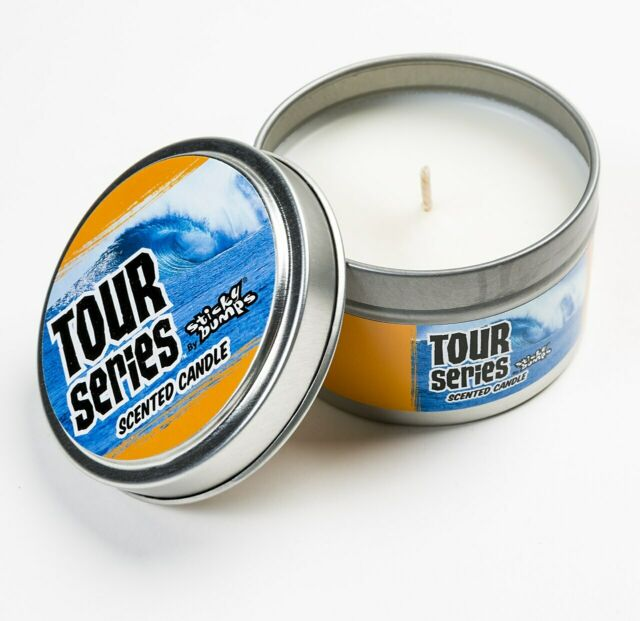 Sticky Bumps surfboard wax 5 Oz tin Candle Tour Series ...