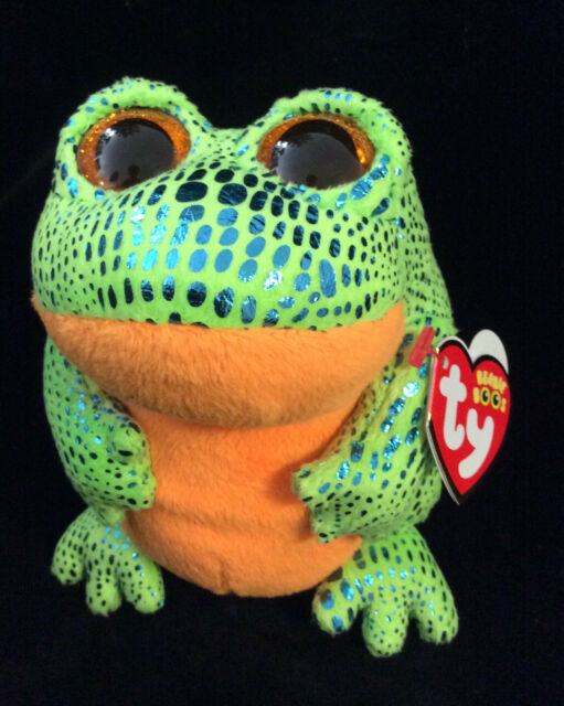 30ce11de13e w-f-l TY Boos Speckles Frog 15 cm Glubschi Boo ´s Glitter Eyes
