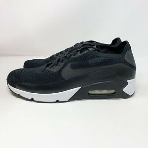 Details about Nike Air Max 90 Ultra 2.0 Flyknit Sneaker Men's Shoes BLACK 875943 004 Size 11.5