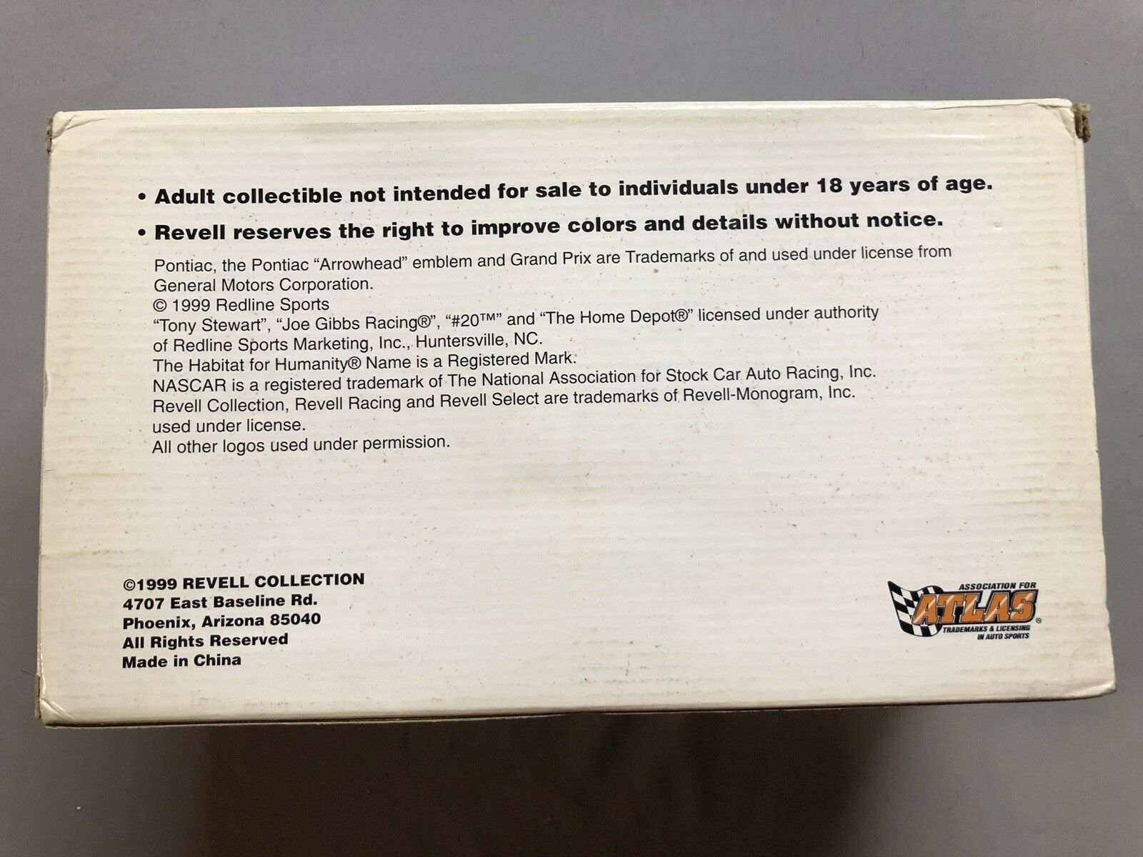 TONY STEWART NASCAR DIECAST 1999 HABITAT FOR FOR FOR HUMANITY - 1 24 SCALE ACTION fab700