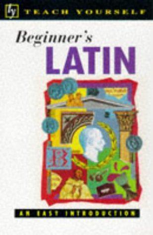 Teach Yourself Beginner's Latin (TYL), Sharpley, George, Good Condition Book, IS