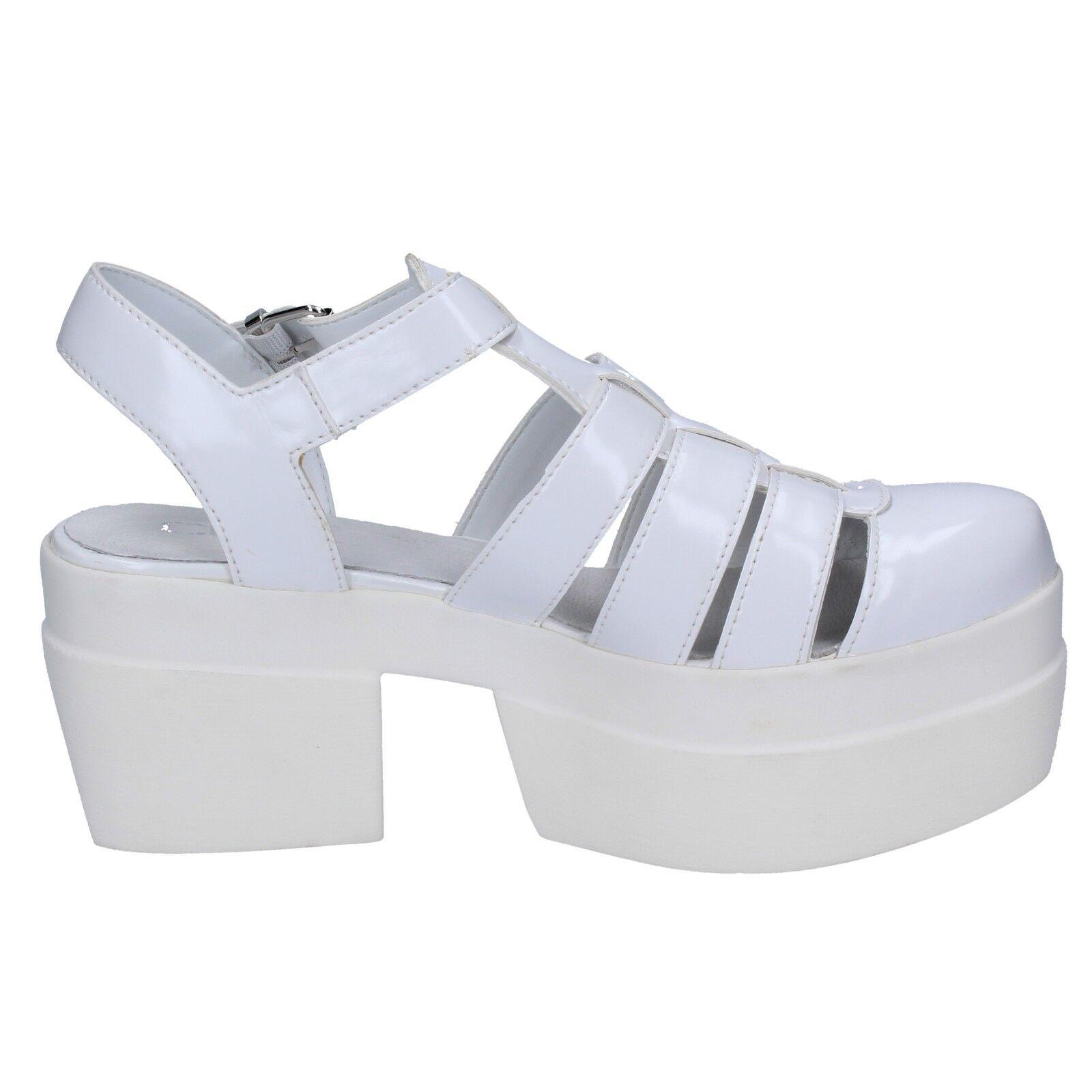 Women's shoes CULT CULT CULT 10 (EU 40) sandals white leather BT539-40 447f90