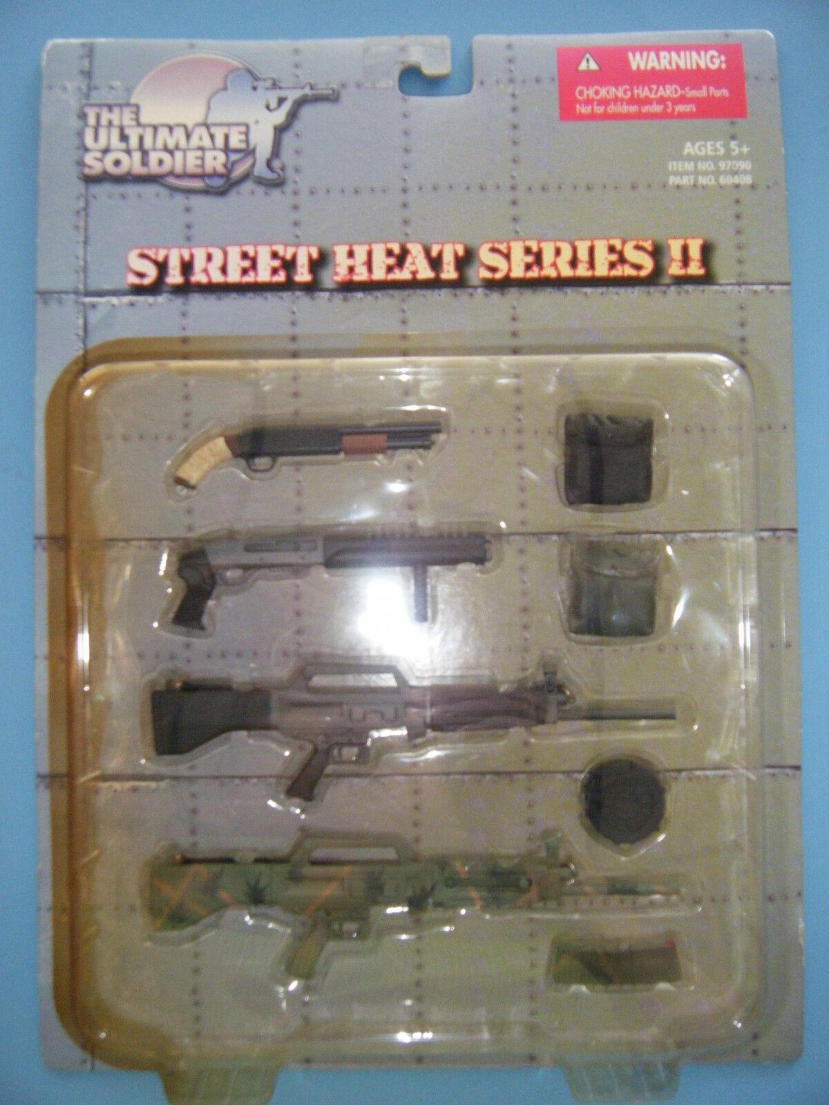 ULTIMATE SOLDIER VIETNAM STREET HEAT SERIES II WEAPONS 1 06 SCALE  NEW