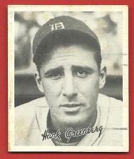 1936   HANK  GREENBERG    GOUDEY   R332   !!