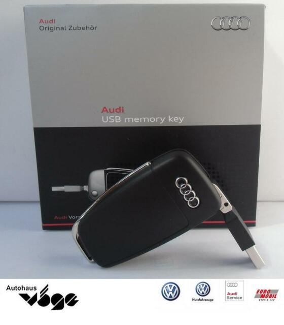 AUDI USB Memory Key, AUDI Clé USB 8GB, en clé de voiture, noir NOUVEAU