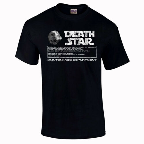 to 5XL Death Star Maintenance Department Wars Gifts Funny T-Shirt