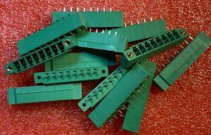 13pcs-X-1830651-Pluggable-Terminal-Blocks-8-Pos-3-81mm-pitch