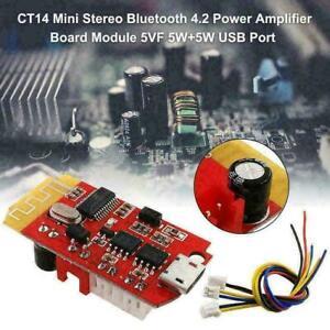 CT14-Micro4-2-Stereo-Leistungsverstaerker-Bluetooth-Kartenmodul-T8A-Zum-C5Z6