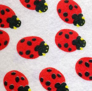 PRINTED-PATTERN-Acrylic-Ladybirds-Pattern-Felt