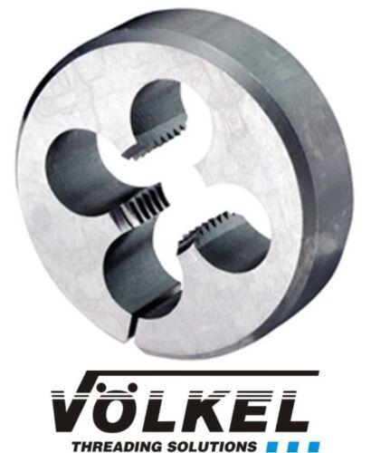 Volkel HSS Metric Fine Split Dies M8-M20 German Quailty