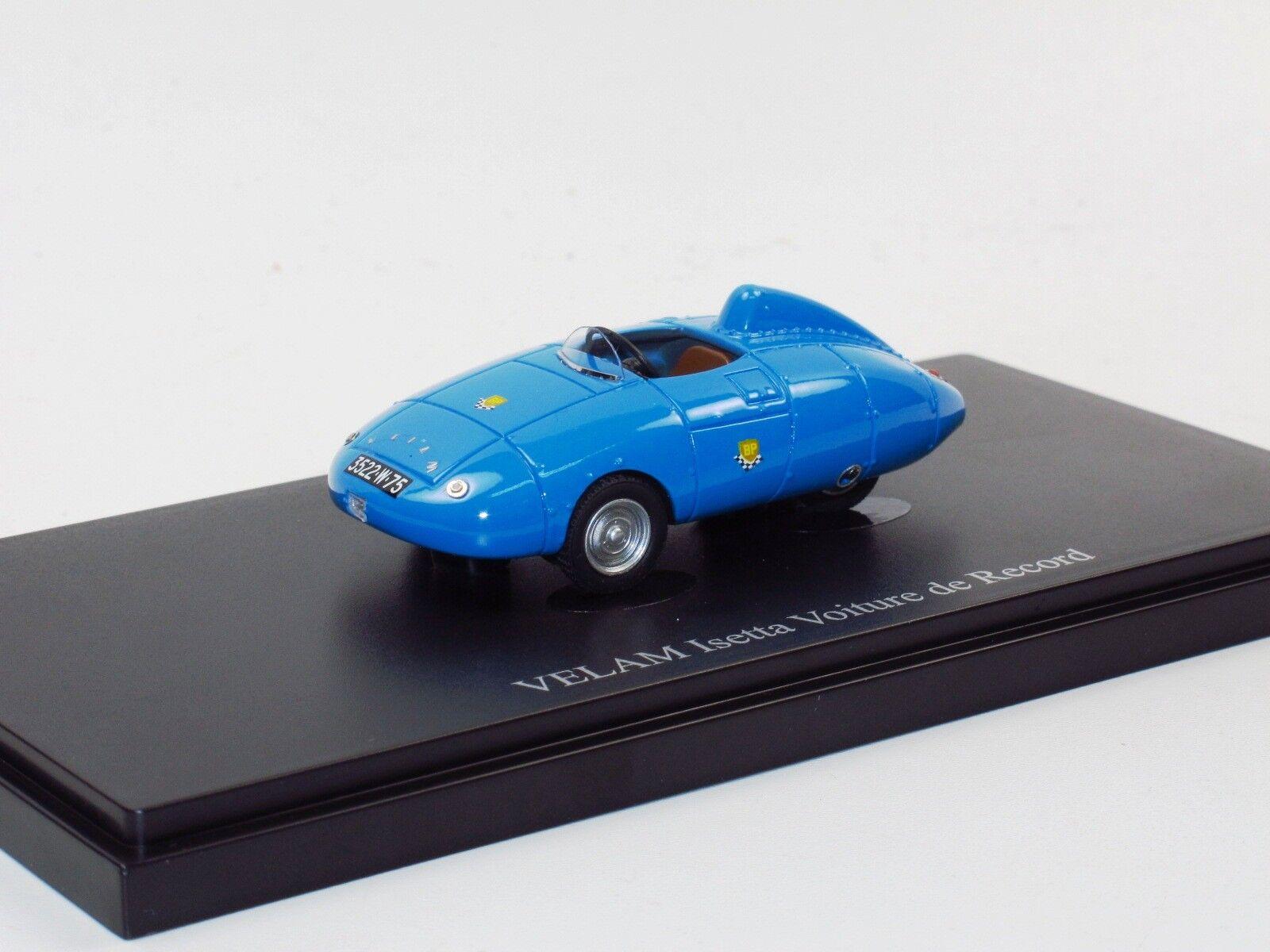 AutoCult AutoCult AutoCult 07009 - Velam Isetta Rekordwagen Record Car Voiture de Record 1957 1 43 fcc459