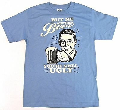 Funny Drinking Graphic T-Shirt I/'M DRUNK AND YOU/'RE STILL UGLY Printed Humor Tee