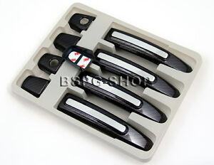 T/ürgriffblenden Kappen Abdeckung Blenden f/ür die T/ürgriffe carbon 9 Teile