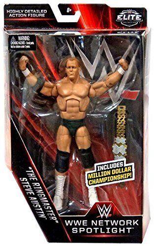 WWE Stein Cold Steve Austin Ringmaster Gürtel Elite Mattel Wrestling Actionfigur