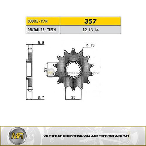 BETA RR 4T ENDURO 400 DA 2005 A 2014 PIGNONE ACCIAIO PASSO 520-14 DENTI