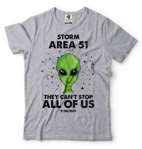 Details about Storm Area 51 T-shirt Area51 September 20, 2019 Alien T-shirt