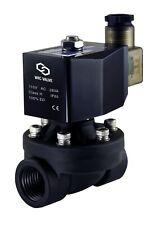 Zero Differential Nylon Plastic Electric Solenoid Water Valve 34 Nc 110v Ac