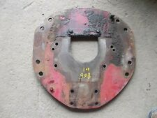 International Farmall Ih 806 Tractor Gas 301 Motor Rear Mounting Plate