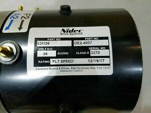 EZGO PDS/DCS Advanced Motors 36/48 Volt Golf Cart Motor #EV6-4001 / DE2-4007 NEW