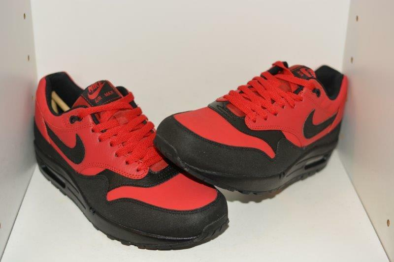 NIKE AIR MAX 1 LEATHER PREMIUM MENS RUNNING SHOES - MENS SIZE 9