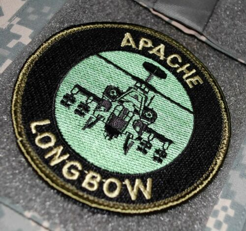 APACHE LONGBOW UK BRITISH ARMY AH-64D ATTACK HELICOPTER SHOULDER PATCH vel ⚙