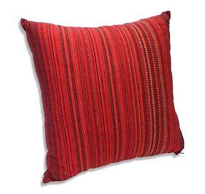 Thai-Cushion-Authentic-Thai-fabric-Cushion-Large-50cm-KC12-Handmade-in-Thailand