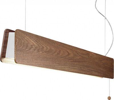 XXL LED Pendelleuchte aus Holz 3000K Esstisch L:90cm Hängelampe groß