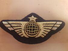 INSIGNE globe AILE DE POITRINE COMPAGNIE AERIENNE- Airline Pilot Wings 2216