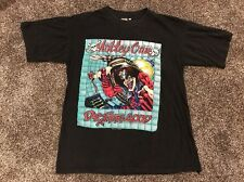 552 MOTLEY CRUE Size Medium Dr. Feelgood tour T shirt 1989 Black Vintage