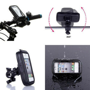360-Bicycle-Motor-Bike-Waterproof-Mobile-Case-Mount-Holder-For-All-Huawei-Phones