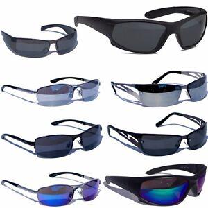 'Top 3 Für 2' - Coole Herren Sonnenbrille Sport Rad Brille Damen Verspiegelt Neu DFLOHsR