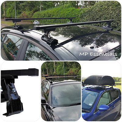 Summit Roof Rack Cross Bars fits Volkswagen VW Polo IV /& V 2001-2017